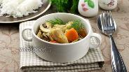Фото рецепта Индейка с овощами и карри