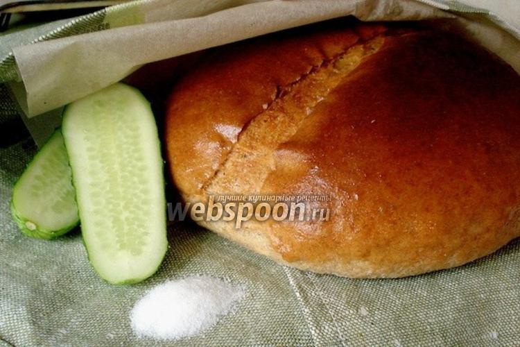 Фото Пшенично-ржаной хлеб