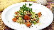 Фото рецепта Салат с креветками и авокадо