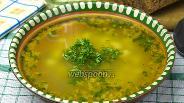 Фото рецепта Постный гороховый суп