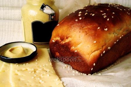 Хлеб с дижонской горчицей и прованскими травами