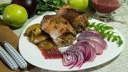 Фото рецепта Свинина с яблоками
