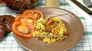 Фото рецепта Пряный рис в горшочках
