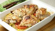 Фото рецепта Курица с картофелем