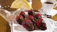 Фото рецепта Шоколадное фондю