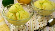 Фото рецепта Лимонный сорбет