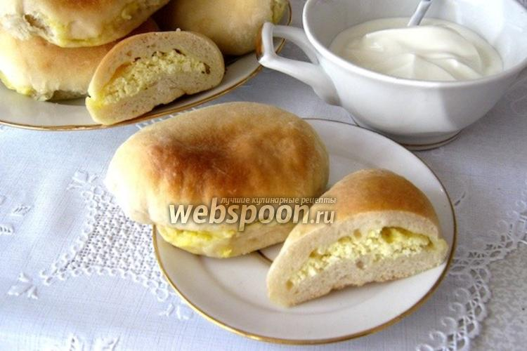 Фото Пирожки с творогом печёные
