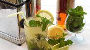 Фото рецепта Мохито с лимоном и спрайтом