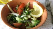 Фото рецепта Салат из пекинской капусты с сельдереем