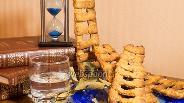 Фото рецепта Ореховое печенье «Вознесенские лесенки»
