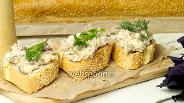 Фото рецепта Паштет из копчёной рыбы