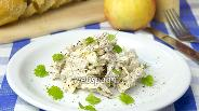 Фото рецепта Салат с мясом и яблоком