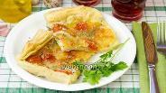 Фото рецепта Пирог с сыром и томатами