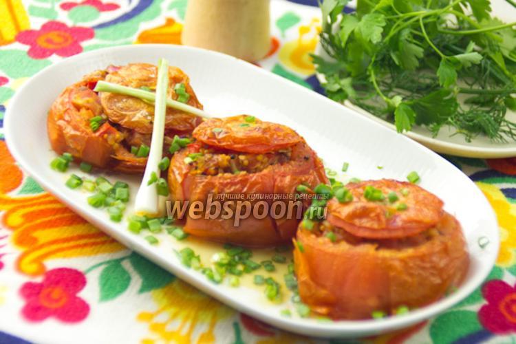 Фото Фаршированные томаты