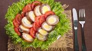 Фото рецепта Мясной рулет с яйцами