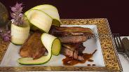Фото рецепта Говядина в горчично-медовом маринаде
