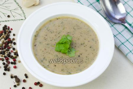 Хлебно-чесночный суп