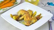 Фото рецепта Куриные крылышки с яблоками