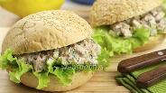 Фото рецепта Бутерброды с тунцом и сельдереем
