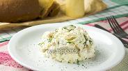 Фото рецепта Салат с курицей и йогуртовой заправкой
