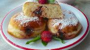 Фото рецепта Берлинер или пончик с джемом