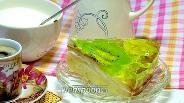 Фото рецепта Торт с желе и фруктами