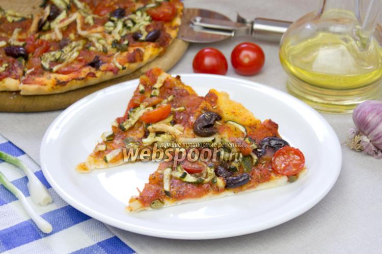 Фото Вегетарианская пицца