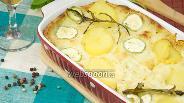Фото рецепта Картофельная запеканка с кабачками