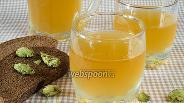 Фото рецепта Квас из ржаных сухарей с хмелем