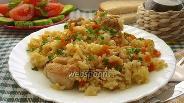 Фото рецепта Плов с курицей