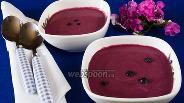Фото рецепта Суп из черники