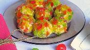 Фото рецепта Творожные шарики в леденцовой карамели