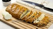 Фото рецепта Фугас с луком и розмарином