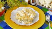 Фото рецепта Цветная капуста с сыром и майонезом