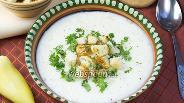 Фото рецепта Сырный суп с рисом