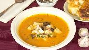 Фото рецепта Суп-пюре из печёных помидоров с картофелем