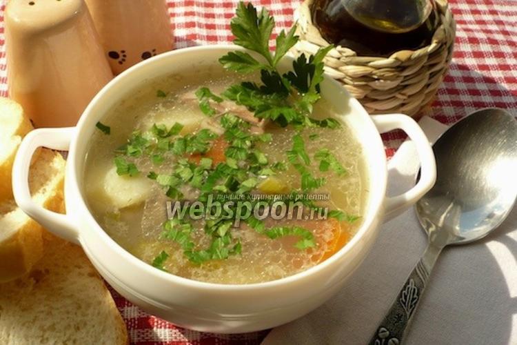 Фото Шотландский пастуший суп из баранины