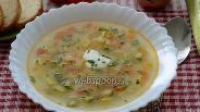 Фото рецепта Суп с картофелем и кабачками