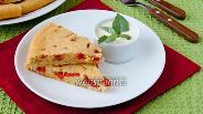 Фото рецепта Имбирный пирог с овощами