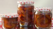 Фото рецепта Варенье из персиков на зиму