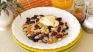 Фото рецепта Салат из зерновой фасоли