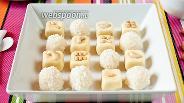Фото рецепта Кокосово-молочный барфи