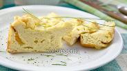 Фото рецепта Суфле с пармезаном