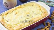Фото рецепта Яблоки в суфле из манной крупы