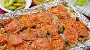 Фото рецепта Куриное филе с овощами и орехами