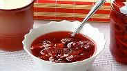 Фото рецепта Джем из клубники и апельсинов