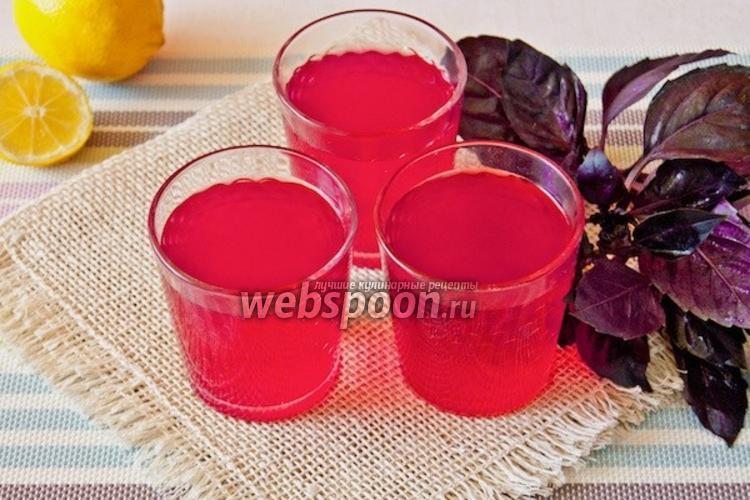 Фото Напиток из базилика