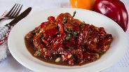 Фото рецепта Салат из печёных перцев