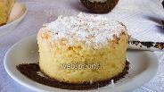 Фото рецепта Кокосовый пирог на кислом молоке