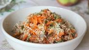 Фото рецепта Салат из огурца и моркови